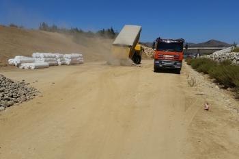 La Junta reinicia las obras de Coín-Casapalma en el Valle del Gaudalhorce con una inversión de 2,5 millones