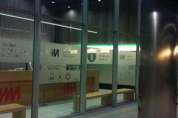 El Consorcio prestará asesoramiento en la Oficina de Información de la Estación el Perchel del Metro Málaga