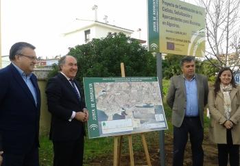 La Consejería de Fomento y Vivienda inicia las obras de construcción de la red ciclista de Algeciras