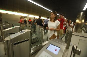 Metro de Málaga reforzará el servicio en la Feria con un horario ininterrumpido entre el viernes, 15 de agosto, y la madrugada del domingo, 17 de agosto