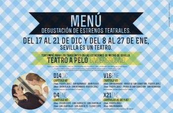 El metro de Sevilla se convertirá desde el próximo domingo en escenario del Festival de Artes Escénicas de Sevilla