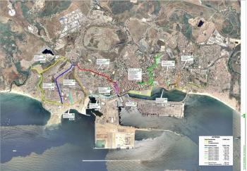 Fomento y Vivienda licita por 3,5 millones la construcción de 9,5 kilómetros de vías ciclistas en Algeciras