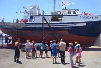 Fomento y Vivienda reanuda este otoño la campaña para difundir la utilidad social de los puertos entre los escolares