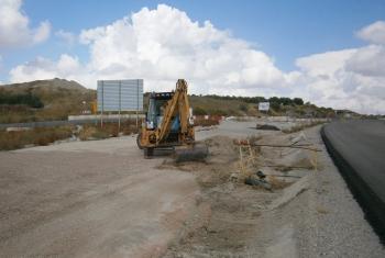La Junta reactiva las obras de duplicación de la variante de Baeza en la Autovía del Olivar