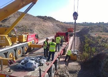 La reactivación de las obras de las autovías del Almanzora y el Olivar supone 77,8 millones y 900 empleos