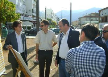 La Junta inicia la construcción de la vía ciclista de la travesía de Cenes, en el área metropolitana de Granada