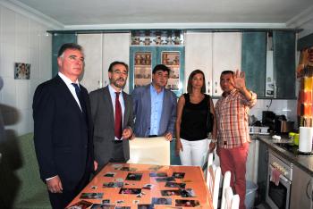 La Junta retoma la rehabilitación de El Torrejón con las obras de mejora de 40 viviendas de la Plaza Orquídea