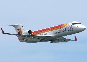 Más de 14.300 viajeros utilizaron el vuelo Almería-Sevilla de enero a junio, un 52,2% más que en 2014
