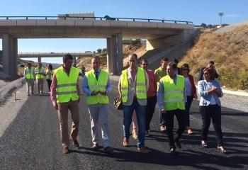 La Junta finalizará las obras de construcción de la nueva carretera Coín-Casapalma en noviembre