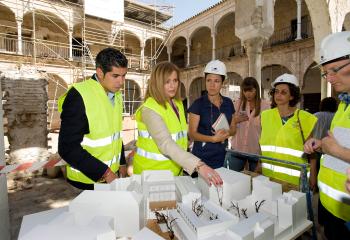 La Junta culminará la rehabilitación del antiguo convento de Santa María de los Reyes a finales de este año