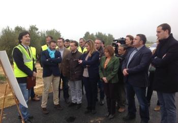 La nueva variante de Arjonilla abre al tráfico este mes para descongestionar el municipio de vehículos agrícolas