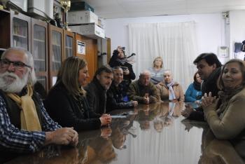 """María Jesús Serrano reitera """"el compromiso de la Junta"""" con la rehabilitación de Marismas del Odiel"""