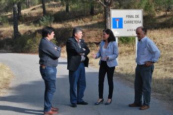 La Junta acondicionará la antigua carretera de La Alhondiguilla, en Villaviciosa, para aumentar la seguridad vial