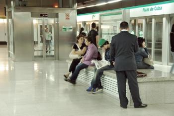 Los usuarios del metro de Sevilla se incrementan un 3% hasta alcanzar los 8,1 millones en el primer semestre del año