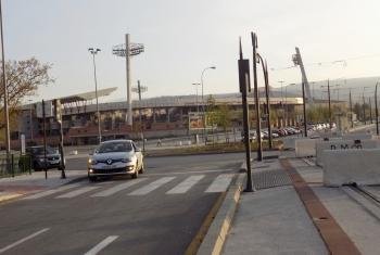 Abierto al tráfico el puente sobre el río Monachil tras finalizar los trabajos del Metro de Granada