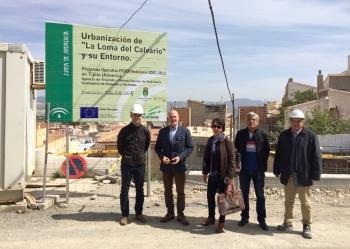 Las obras de urbanización de la Loma del Calvario en el municipio almeriense de Tíjola culminarán a finales de mayo