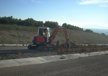Se reanudan las obras de la Autovía del Olivar en el tramo de conexión entre Baeza y Puente del Obispo