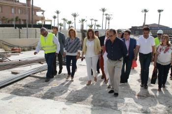 La Junta finaliza el desvío para vehículos pesados por Vera motivado por las obras de soterramiento del puerto de Garrucha