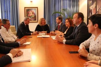 Junta y Ayuntamiento de Motril impulsan el desarrollo del Área Logística del municipio y acuerdan la distribución de los terrenos
