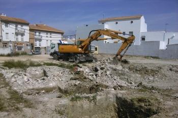 Comienzan las obras de construcción de la estación de autobuses de Estepa