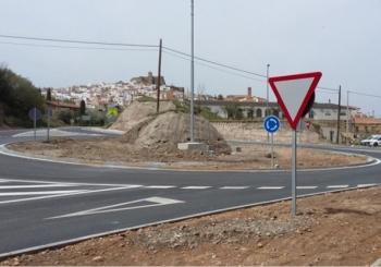 Finalizan las obras para mejorar la seguridad vial en la A-334, entre Caniles y Purchena