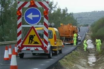 La Junta renueva los contratos de conservación integral de carreteras en Andalucía con un presupuesto de 86 millones