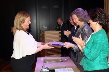 María Jesús Serrano recoge el Premio Europa Nostra al Plan de Actuaciones de la Puerta del Puente romano de Córdoba