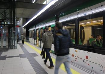 Metro de Málaga reforzará su servicio en Semana Santa con horario ininterrumpido desde el miércoles hasta el viernes