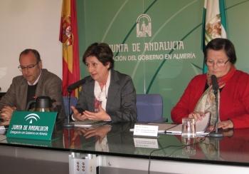 Junta y Ayuntamiento de Almería inician la intervención urbana en la Plaza Muñoz