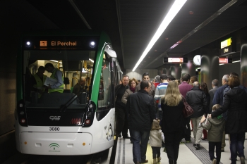 La Junta firma el contrato de las obras del tramo del Metro de Málaga hasta el centro