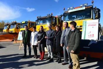 Las carreteras de la Junta en Granada afrontan el invierno con un dispositivo de 170 operarios y 4.480 toneladas de sal