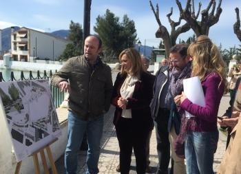 La Junta finalizará en verano la adecuación del entorno de La Charca de Pegalajar tras una inversión de 1,4 millones