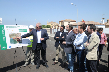 La Junta abre al tráfico el nuevo tramo de autovía de la A-491 entre El Puerto de Santa María y Rota