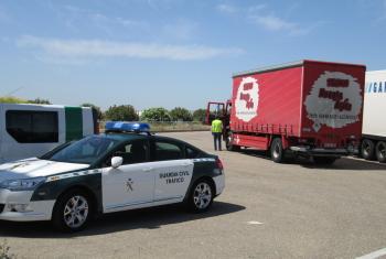 La Junta sancionó en 2014 a 22.053 vehículos de transporte por exceder la carga, carecer de licencia o no respetar los descansos