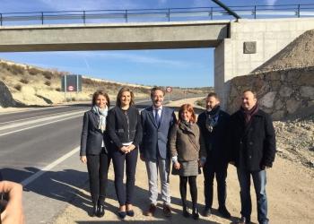 La Junta invierte 765.000 euros en la nueva pasarela ciclista sobre la A-316 entre Úbeda y Baeza que mejora la seguridad vial