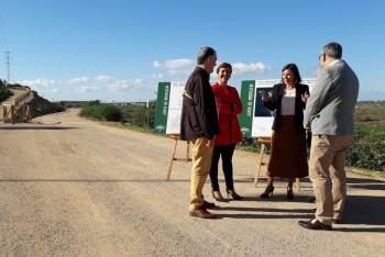 La Junta finaliza las obras de la vía ciclista asociada al trazado del tranvía de la Bahía de Cádiz
