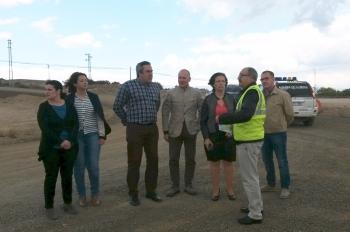 La Junta invierte cerca de dos millones de euros en obras para incrementar la seguridad vial en la A-348, en Alhama de Almería