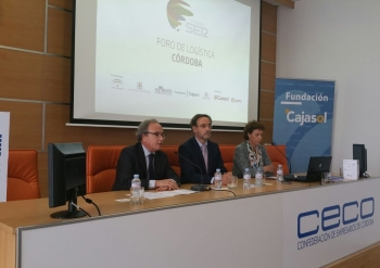Felipe López traslada a empresarios del sector logístico las nuevas ofertas en el Área de Córdoba