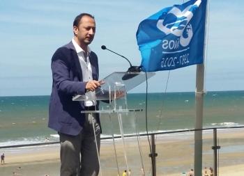 Los puertos andaluces reciben 16 banderas azules en reconocimiento a su sostenibilidad ambiental y social