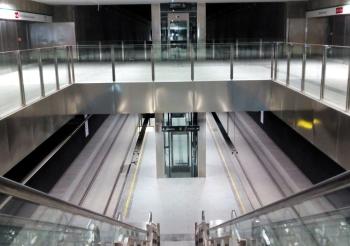 Metro de Granada abre al público las estaciones de Méndez Núñez y Recogidas