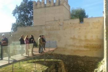 La Junta culmina las obras de adecuación del parque del Castillo de Luna en Mairena del Alcor