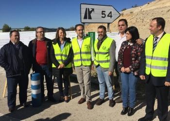 La Junta inicia las obras para mejorar la seguridad vial en 3 tramos de la A-316, entre Martos y Jaén