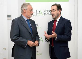 López traslada al Defensor del Pueblo el impulso a la rehabilitación y al alquiler como prioridades del Plan de Vivienda