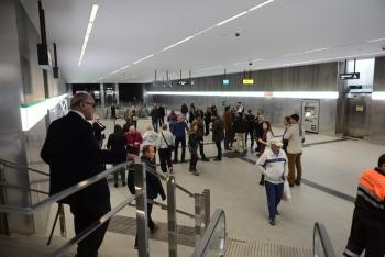 Más de 16.600 personas participan en las jornadas de puertas abiertas del metro de Granada