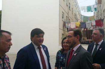 La Junta invierte 16 millones en la rehabilitación de 448 viviendas de El Torrejón