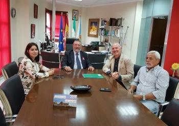 Junta y Ayuntamiento de Albox avanzan en la construcción de un nuevo apeadero de autobuses