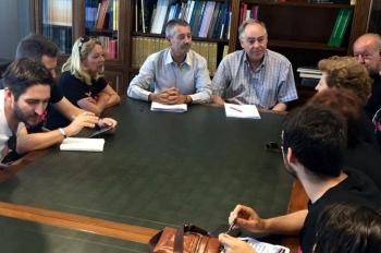 La Junta traslada a la plataforma por el Cercanías entre Palma y Villa del Río su apoyo e implicación para impulsar el proyecto