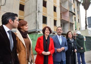 La Junta invierte en el Polígono Sur de Sevilla casi 4 millones en la rehabilitación de 658 viviendas en los 2 últimos años