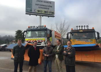 La Junta interviene en un centenar de incidencias en el marco del Plan de Vialidad Invernal en las carreteras del área norte de Jaén