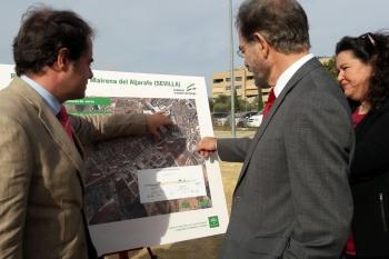 La Junta reinicia las obras de la Ronda Sur de Mairena del Aljarafe, con 6,2 millones de presupuesto y un plazo de año y medio